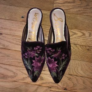 Sam Edelman pointed mules